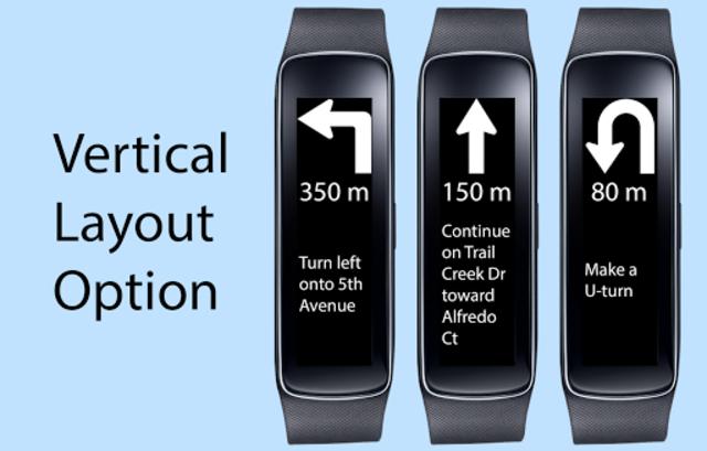 Gear Fit Navigation screenshot 2
