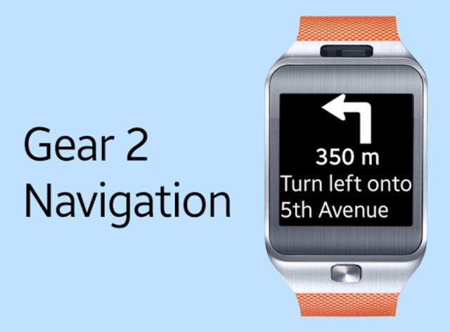 Gear 2 Navigation screenshot 1