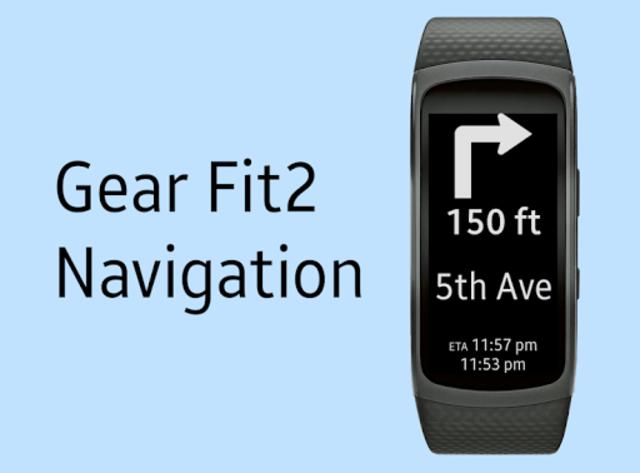 Gear Fit2 Navigation screenshot 1