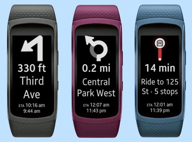Gear Fit2 Navigation screenshot 2