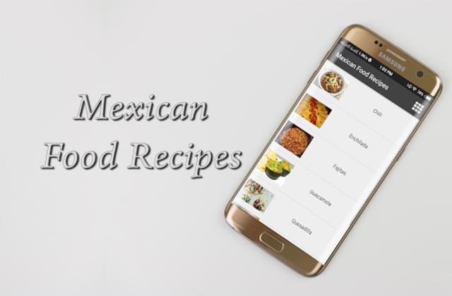 Mexican Food Recipes screenshot 1
