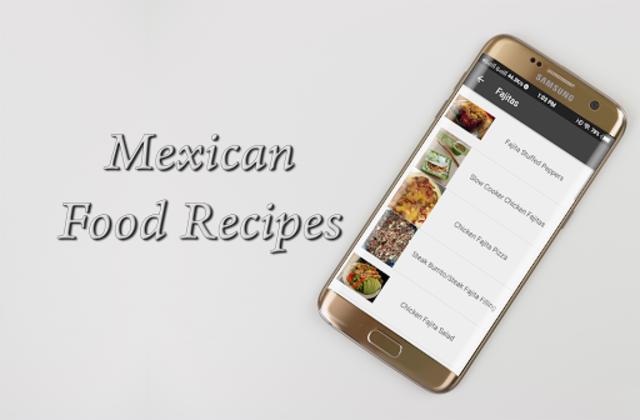 Mexican Food Recipes screenshot 2