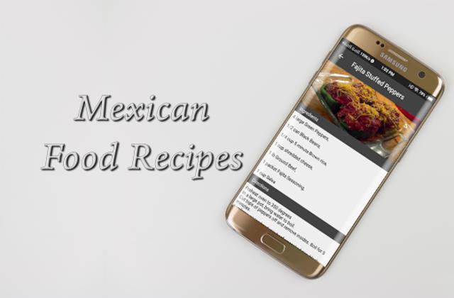 Mexican Food Recipes screenshot 3