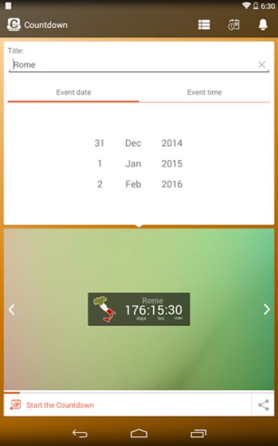 Countdown Days App&Widget screenshot 22