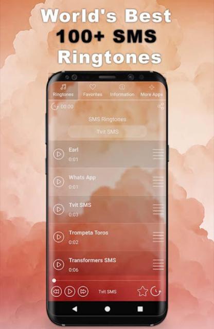 Best SMS Ringtones 2020 🔥   100+ SMS Sounds screenshot 1
