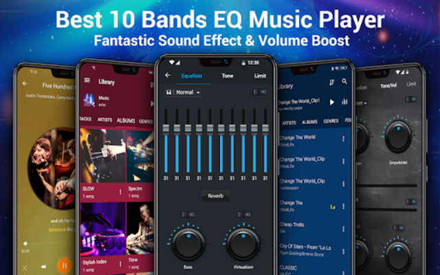 Music Player - MP3 Player & 10 Bands Equalizer screenshot 1