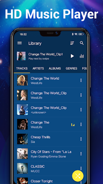 Music Player - MP3 Player & 10 Bands Equalizer screenshot 2