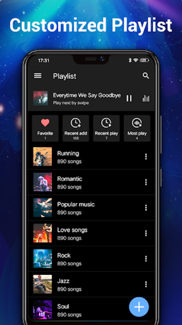 Music Player - MP3 Player & 10 Bands Equalizer screenshot 3