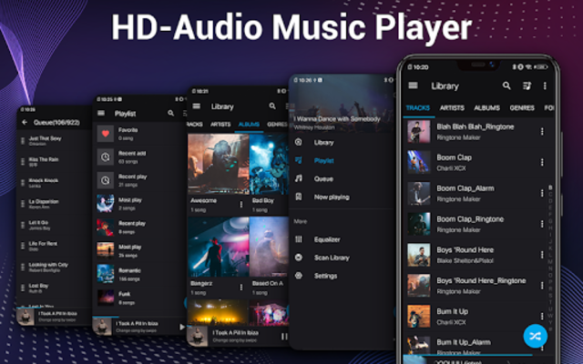 Music Player - Audio Player & 10 Bands Equalizer screenshot 9