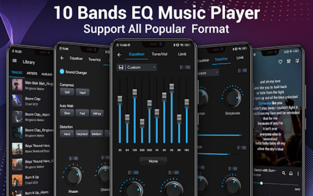 Music Player - Audio Player & 10 Bands Equalizer screenshot 16