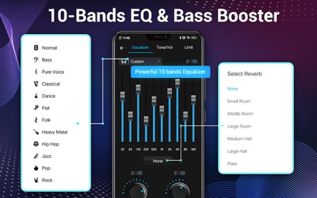 Music Player - Audio Player & 10 Bands Equalizer screenshot 19