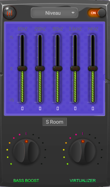 Equalizer booster bass music PRO 2019 screenshot 3