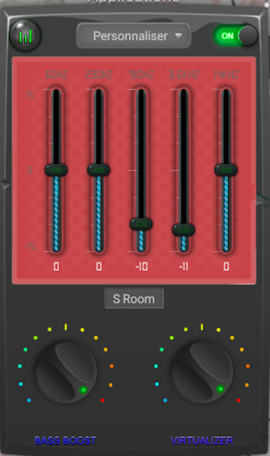 Equalizer booster bass music PRO 2019 screenshot 5