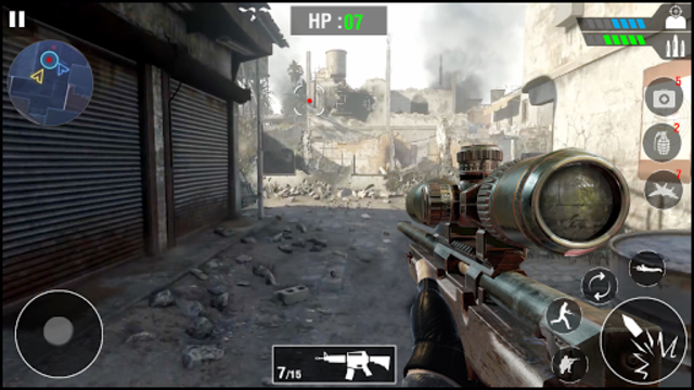 FPS Army Sniper Shooter 3D : Free Shooting Games screenshot 1