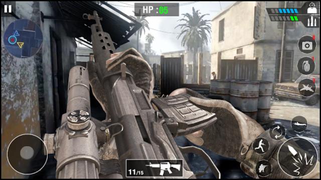 FPS Army Sniper Shooter 3D : Free Shooting Games screenshot 2