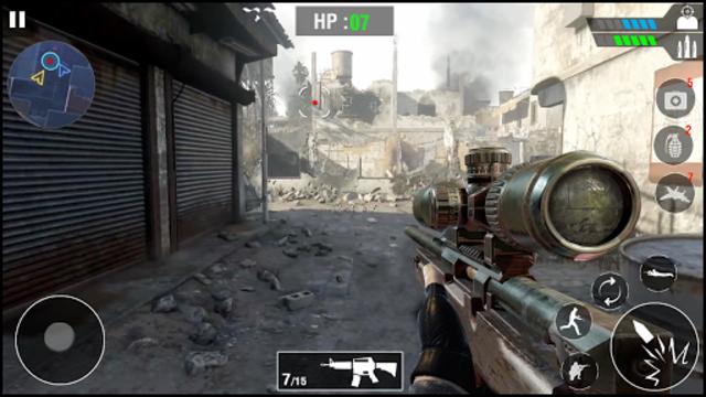 FPS Army Sniper Shooter 3D : Free Shooting Games screenshot 6