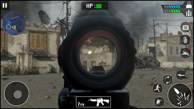 FPS Army Sniper Shooter 3D : Free Shooting Games screenshot 8