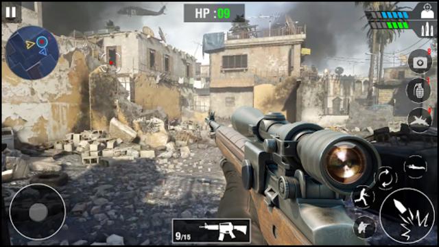 FPS Army Sniper Shooter 3D : Free Shooting Games screenshot 9