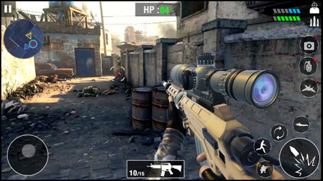 FPS Army Sniper Shooter 3D : Free Shooting Games screenshot 10