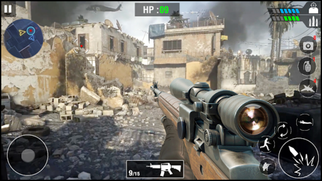 FPS Army Sniper Shooter 3D : Free Shooting Games screenshot 14