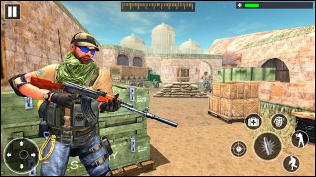 FPS Counter Gun Shoot Strike: War shooting games screenshot 1