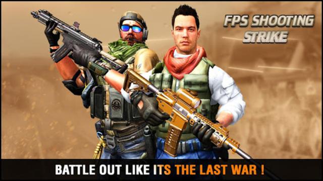 FPS Counter Gun Shoot Strike: War shooting games screenshot 4