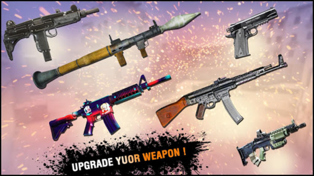 FPS Counter Gun Shoot Strike: War shooting games screenshot 5