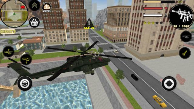 Spider Stickman Rope Hero Gangstar Crime screenshot 3
