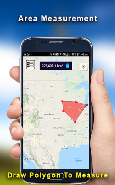 GPS Land Measurement Area Calculator Perimeter screenshot 2