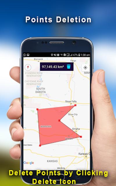 GPS Land Measurement Area Calculator Perimeter screenshot 4
