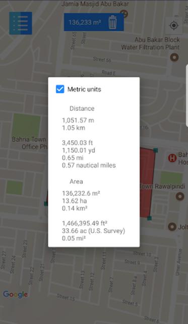 GPS Land Measurement Area Calculator Perimeter screenshot 5