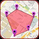Icon for GPS Land Measurement Area Calculator Perimeter