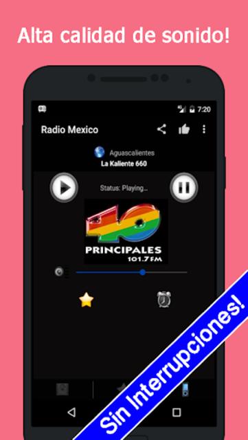 Radio Mexico Gratis screenshot 1