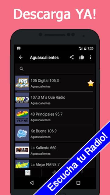 Radio Mexico Gratis screenshot 2