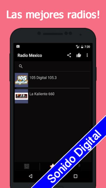Radio Mexico Gratis screenshot 4