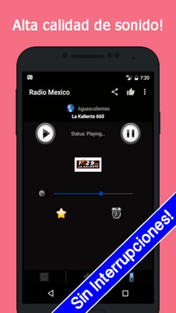 Radio Mexico Gratis screenshot 5