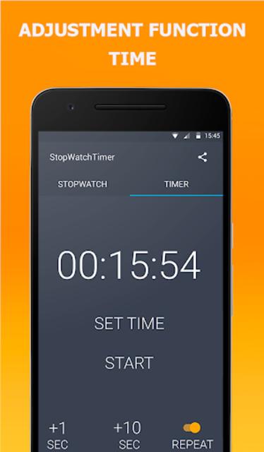 Stopwatch Timer Original screenshot 2
