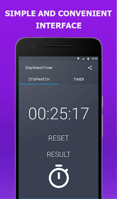 Stopwatch Timer Original screenshot 3