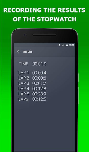 Stopwatch Timer Original screenshot 4