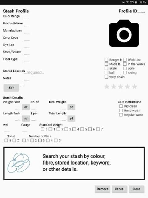 App My Stash: Yarn screenshot 10