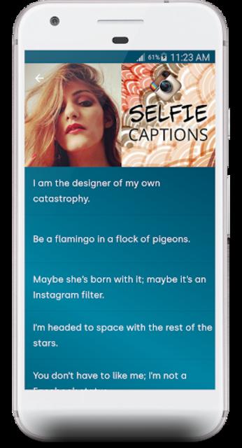 The Best Captions & Status screenshot 3