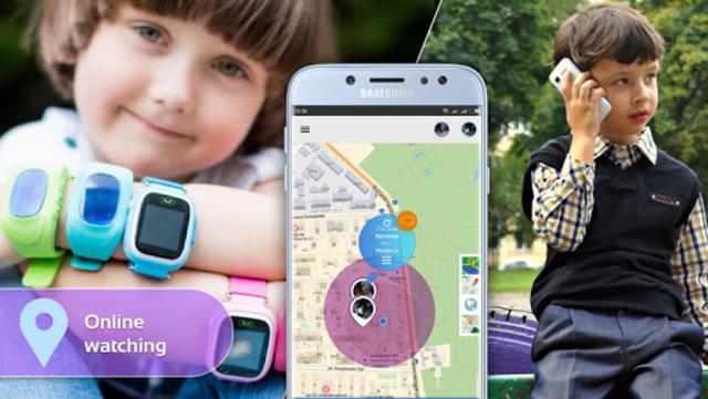 Step By Step: Gps watch, child`s phone tracker screenshot 1