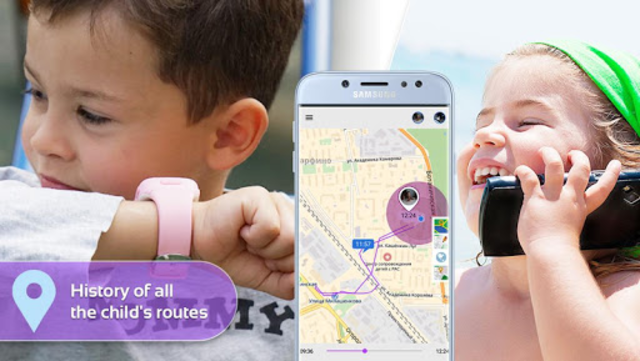 Step By Step: Gps watch, child`s phone tracker screenshot 3
