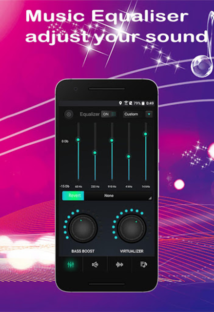 Equalizer Sound Booster Volume Booster for Android screenshot 3
