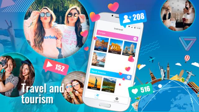 InsTravel - Get Followers by Using Nice Posts screenshot 1