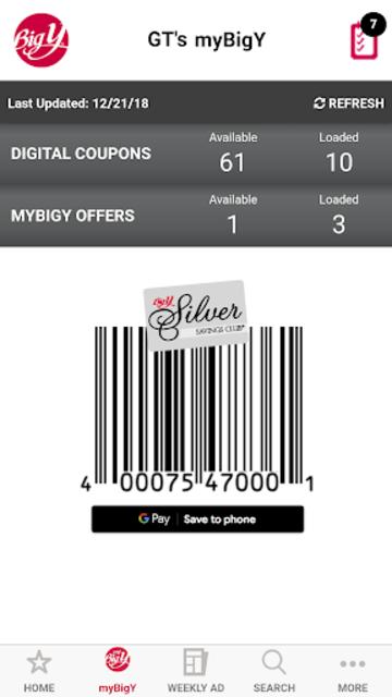 myBigY-Big Y WorldClassMarket screenshot 3