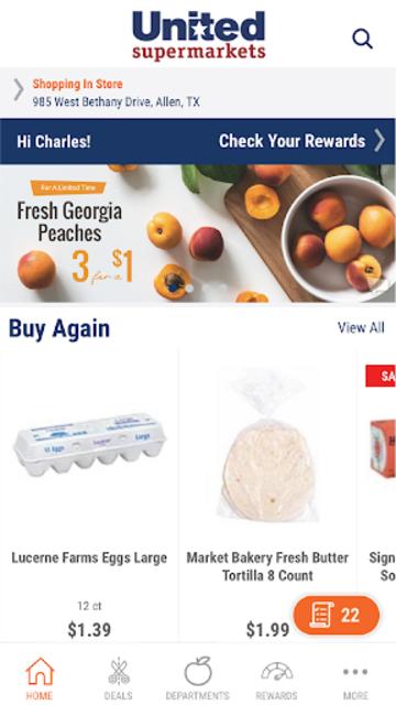 Shop United Supermarkets screenshot 1