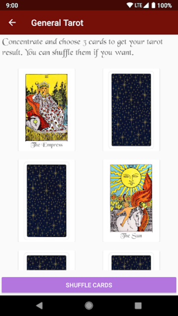 Tarot Card Reading screenshot 2