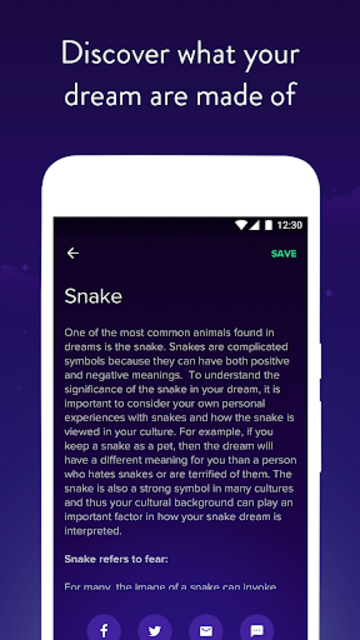 Dream Dictionary - meaningfull your dream screenshot 5