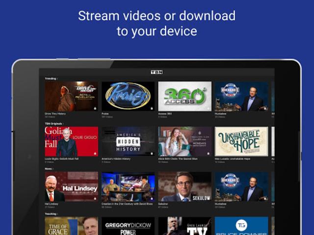 TBN: Watch TV Shows & Live TV screenshot 9